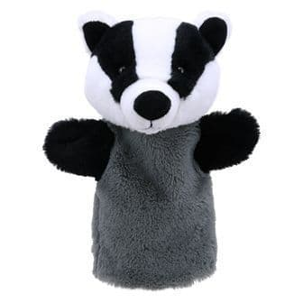 Animal Puppet Buddies: Badger
